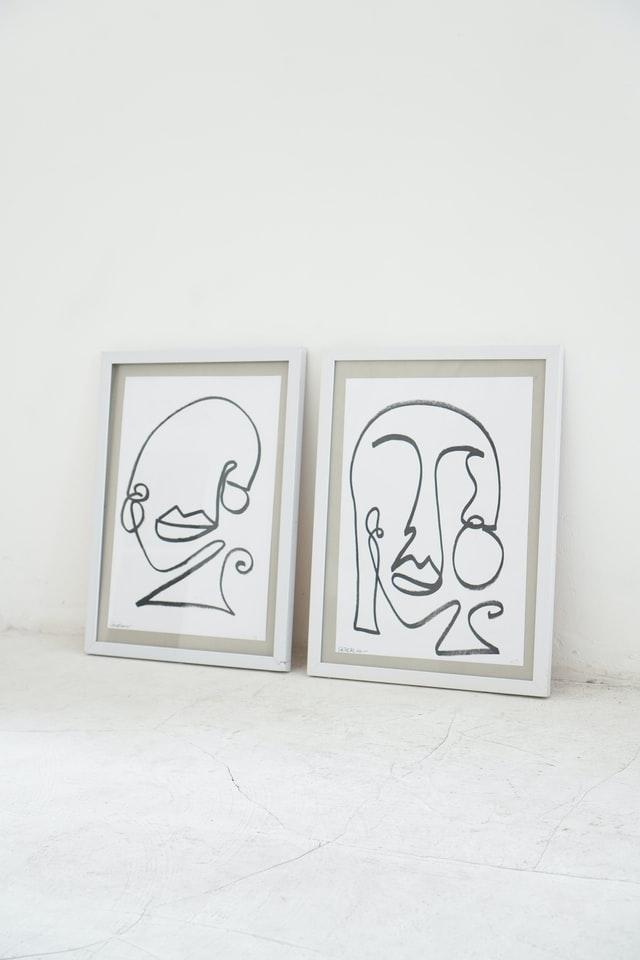 Mangler du flotte billeder til stuen?